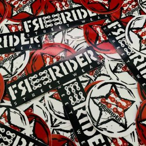 FREERIDER Stickers