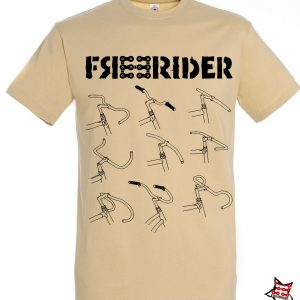 FREERIDER T-Shirt BARS, Sand