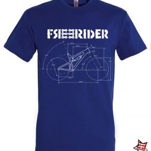 FREERIDER T-Shirt BLUEPRINT, Blue