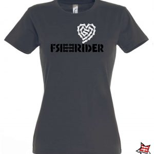 FREERIDER T-Shirt HEART Lady, Grey