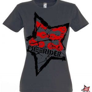 FREERIDER T-Shirt STAR Lady, Grey